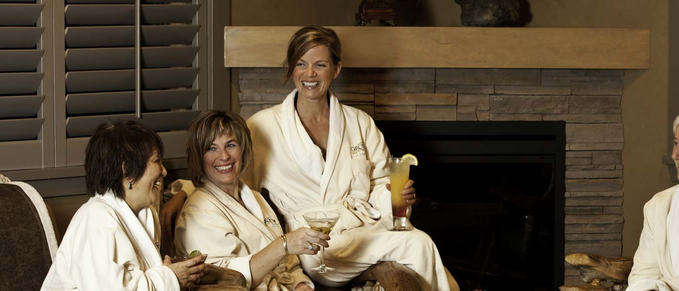 Women Robes Grotto Spa